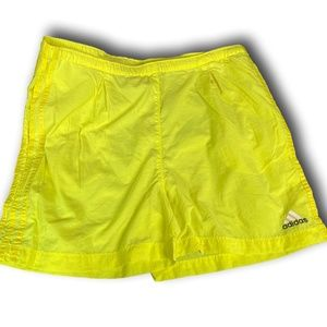 Men's Neon ADIDAS Lightweight shorts